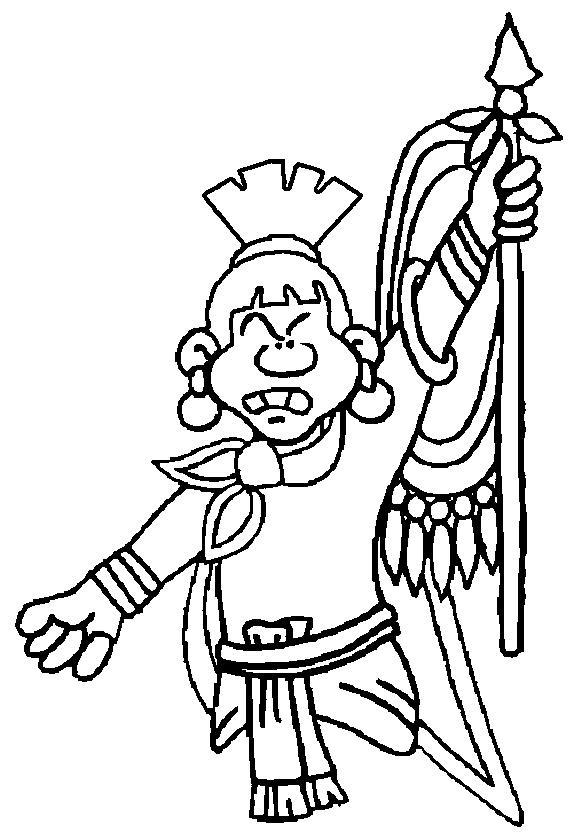 Aztec Civilization coloring #16, Download drawings