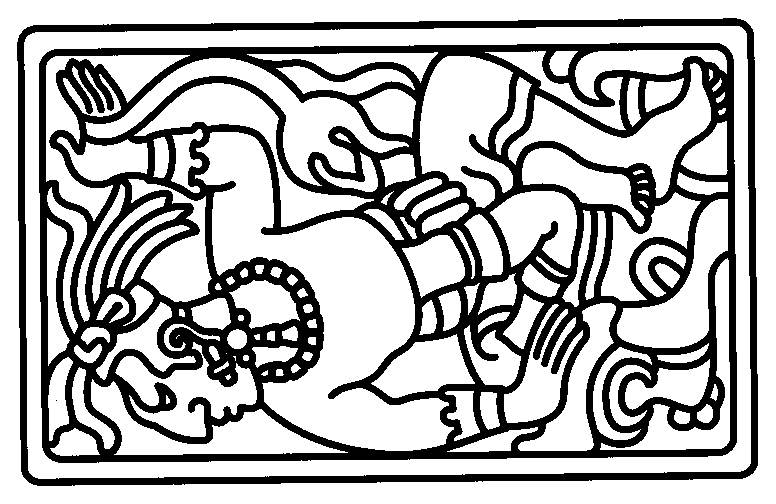Aztecs coloring #7, Download drawings