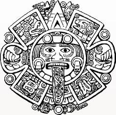 Aztecs coloring #10, Download drawings