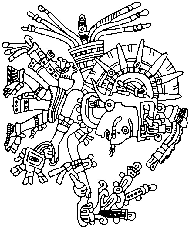 aztecs coloring download aztecs coloring