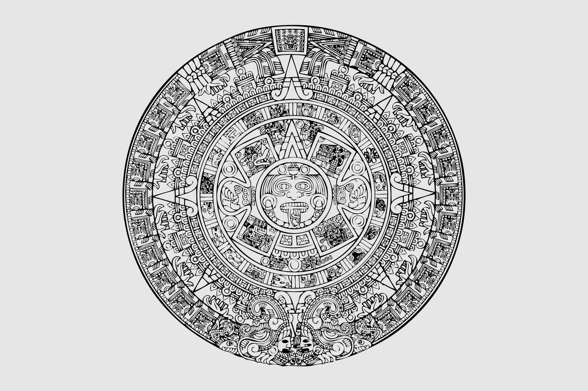 Aztecs svg, Download Aztecs svg for free 2019
