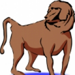 Baboon clipart #8, Download drawings