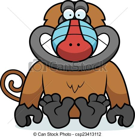 Baboon clipart #5, Download drawings