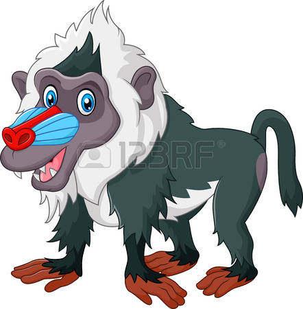 Mandrill clipart #18, Download drawings