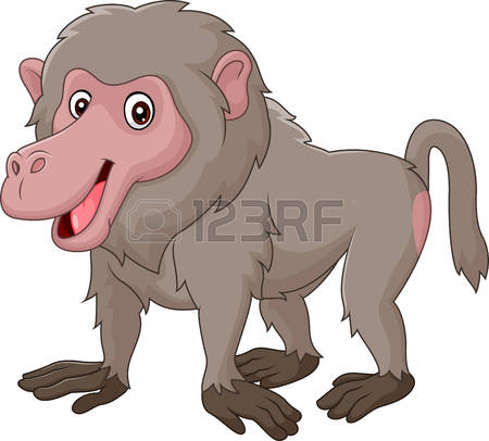 Baboon clipart #15, Download drawings