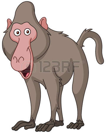 Baboon clipart #16, Download drawings