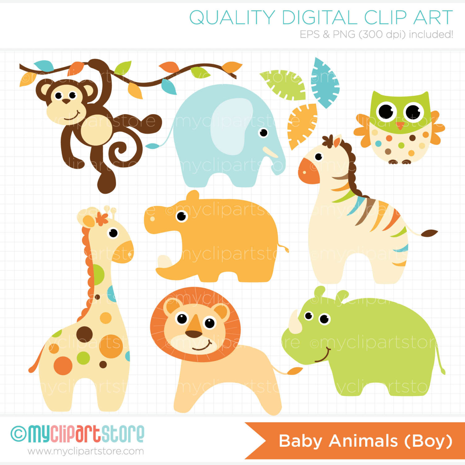 Baby Animal clipart #10, Download drawings