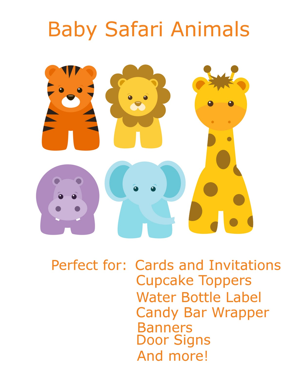 Baby Animal clipart #2, Download drawings
