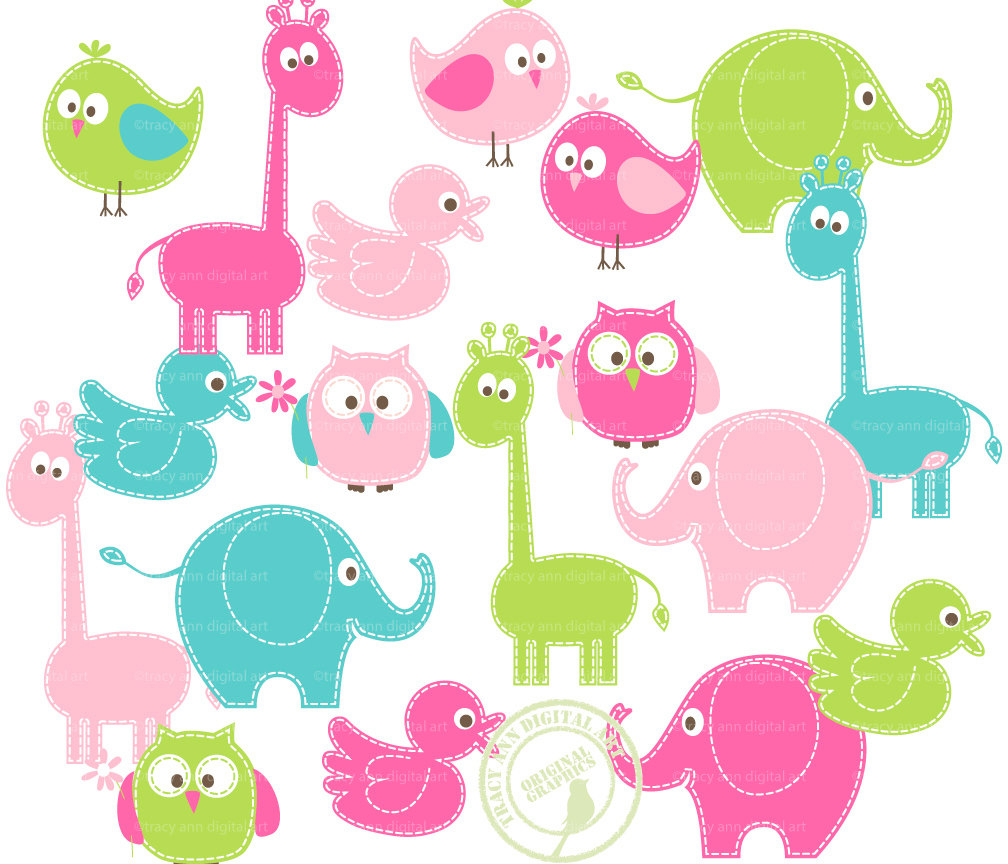Baby Animal clipart #1, Download drawings