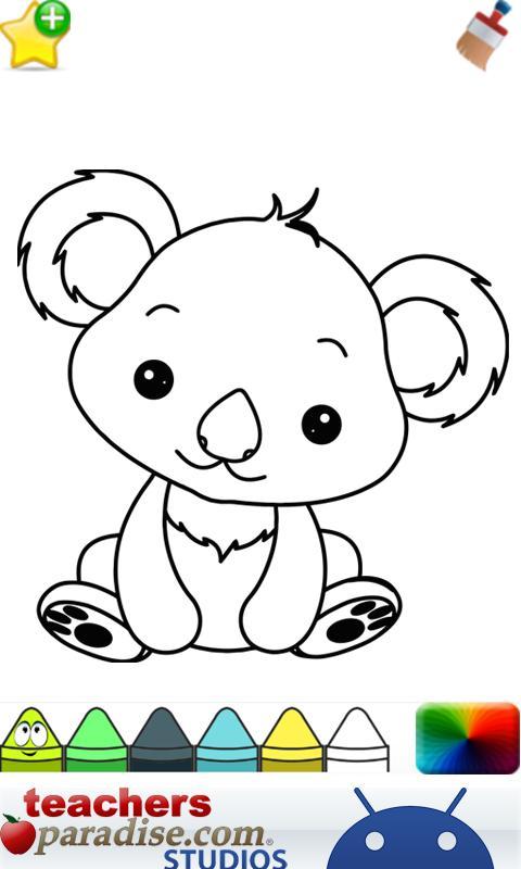 Baby Animal coloring #6, Download drawings