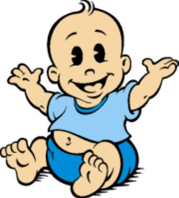 Baby clipart #4, Download drawings