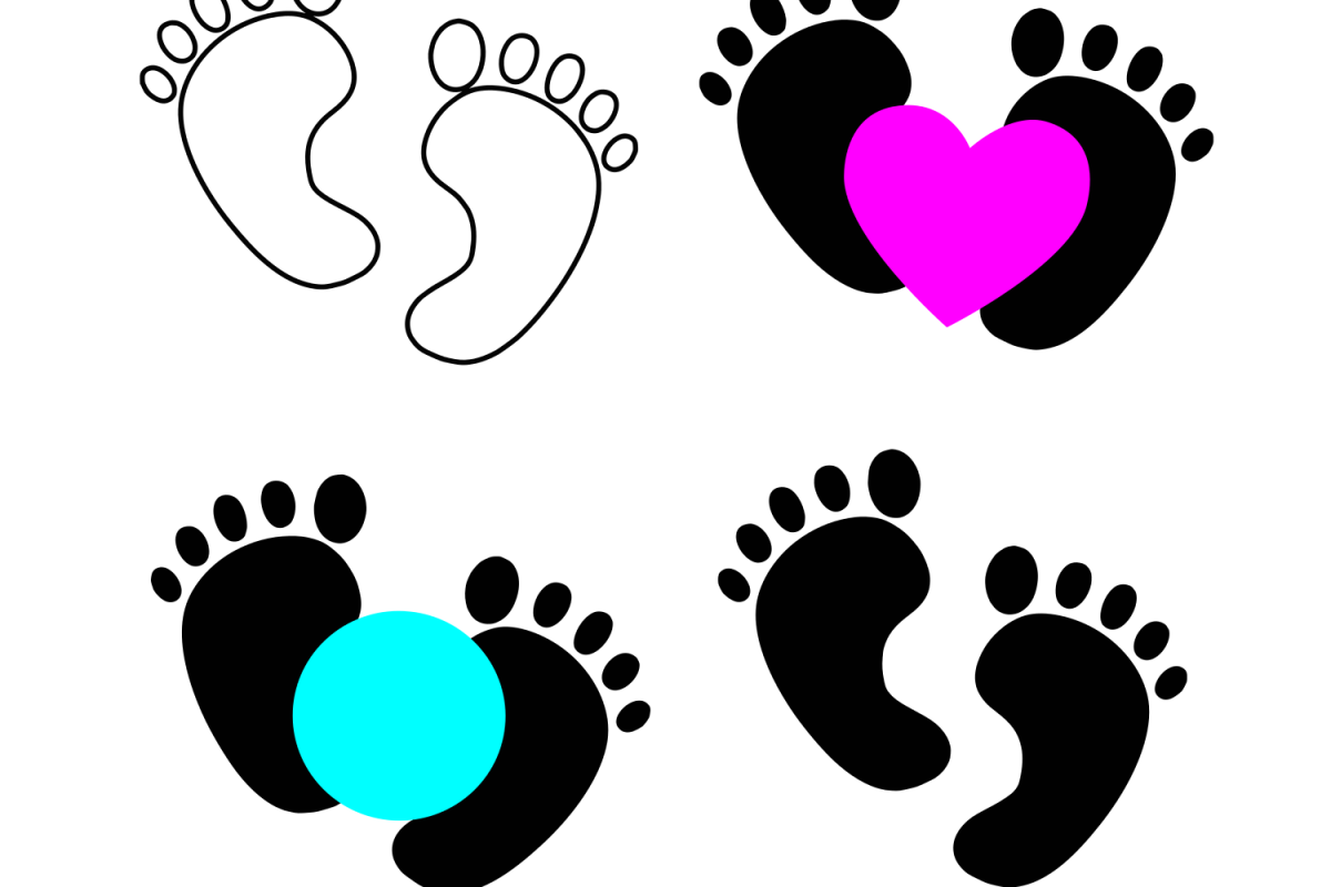 baby feet svg #465, Download drawings