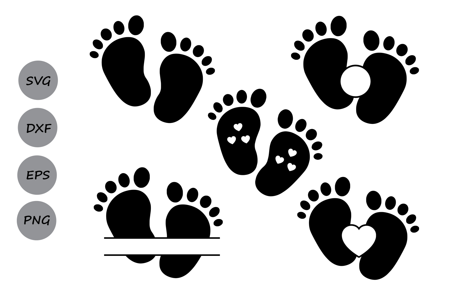 baby feet svg #462, Download drawings