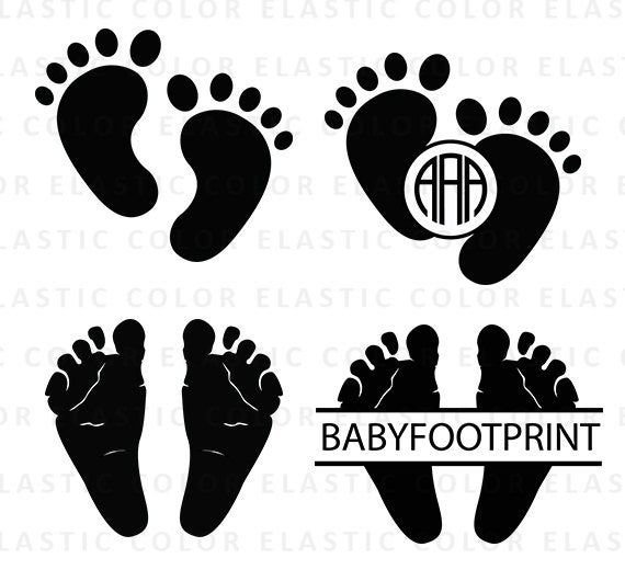 baby feet svg #464, Download drawings
