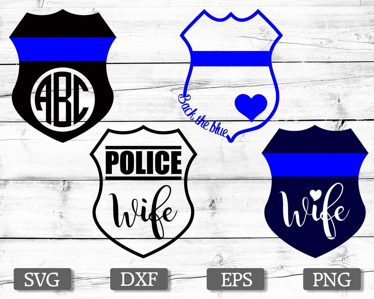 police wife svg #398, Download drawings