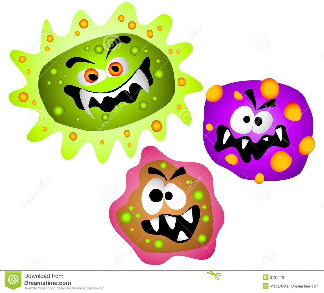 Bacteria clipart #4, Download drawings