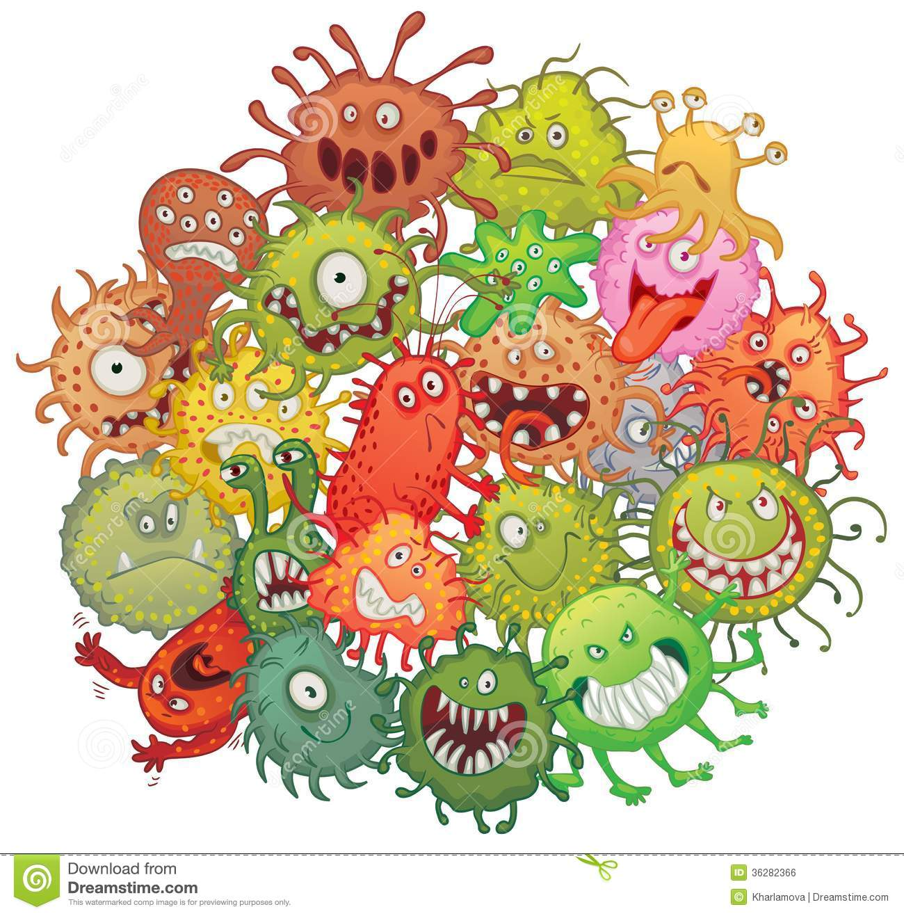 Bacteria clipart #12, Download drawings
