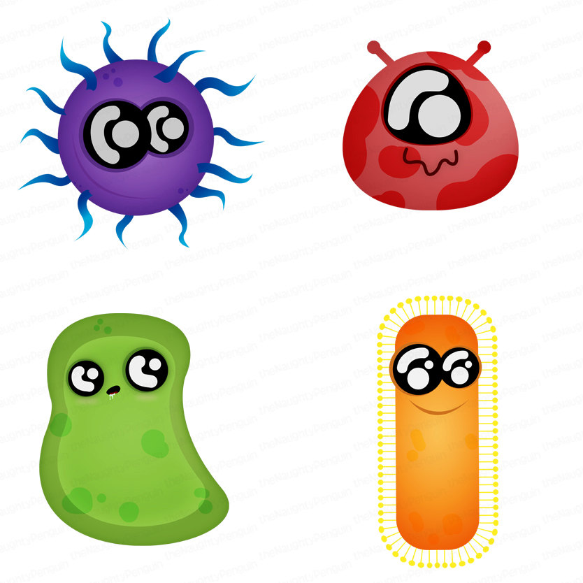 Bacteria clipart #9, Download drawings