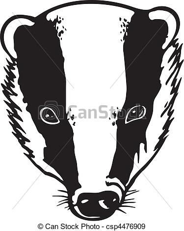 Badger clipart #7, Download drawings