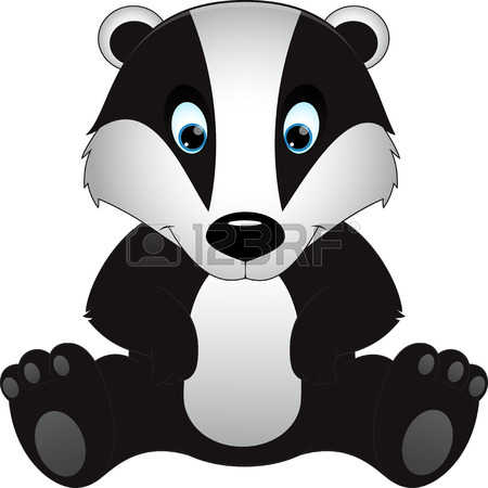 Badger clipart #9, Download drawings