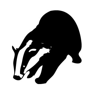 Badger clipart #12, Download drawings