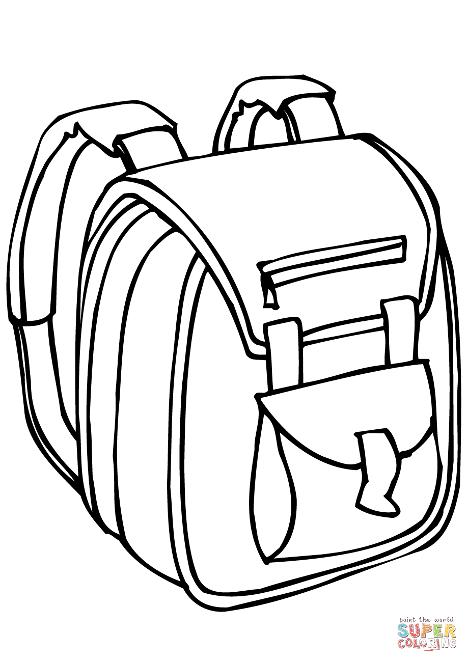 Bag coloring #5, Download drawings