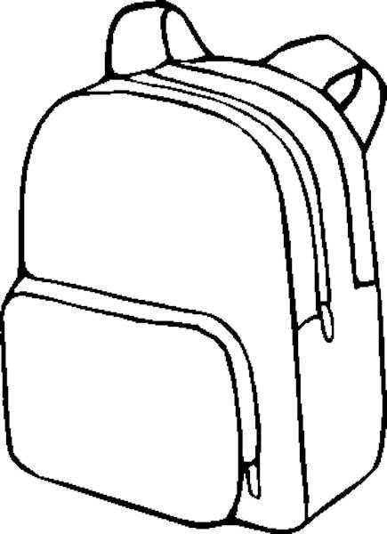 Bag coloring #16, Download drawings