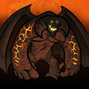 Balrog coloring #13, Download drawings