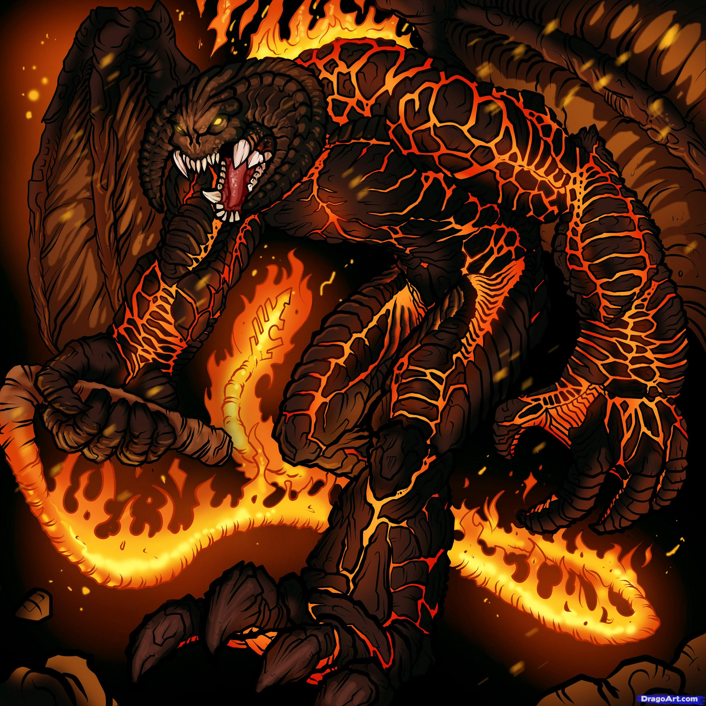 Balrog coloring #3, Download drawings
