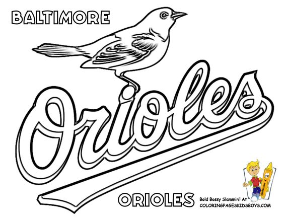 Baltimore coloring #1, Download drawings
