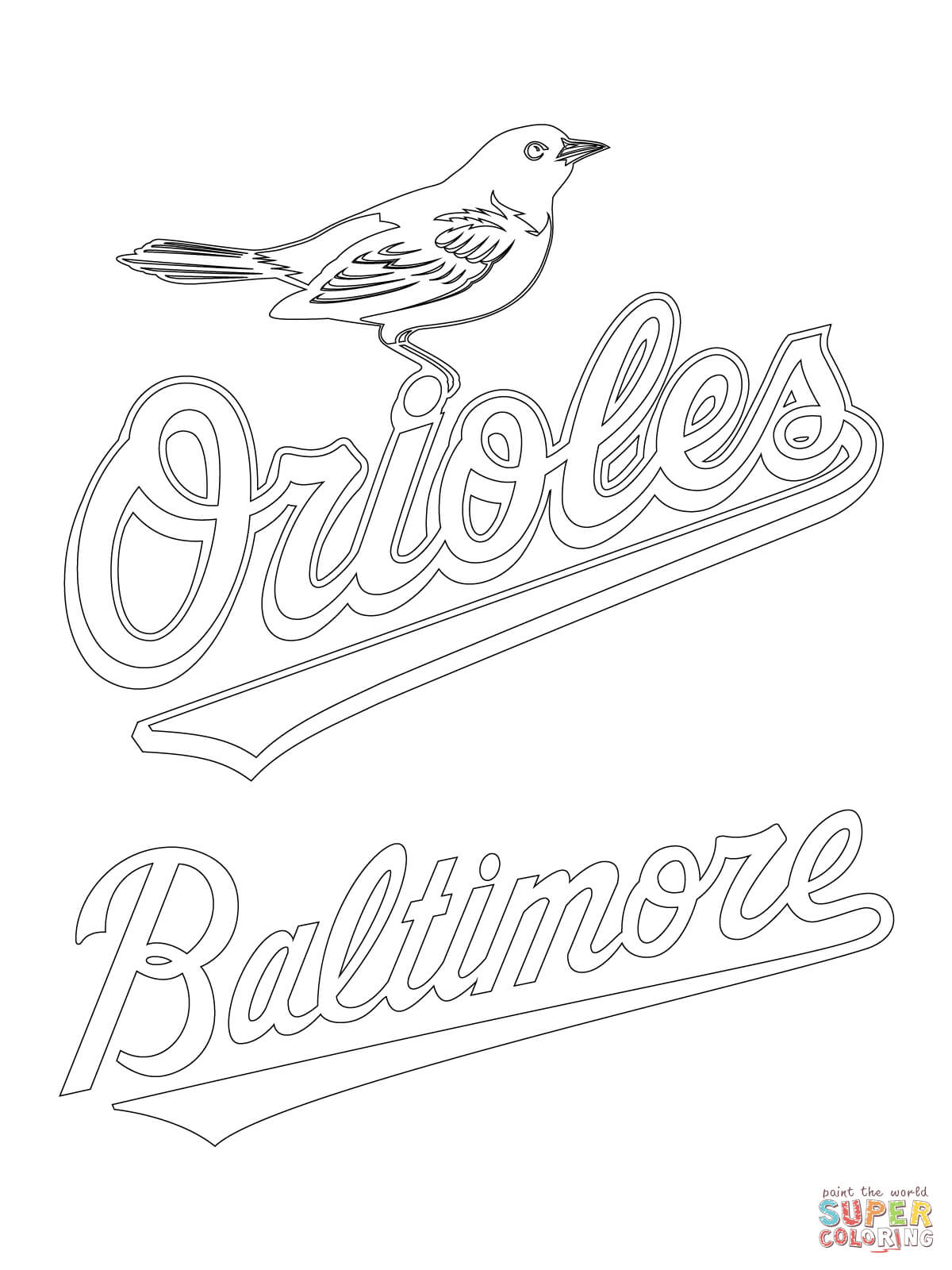 Baltimore coloring #17, Download drawings