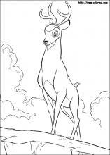 Bambi coloring #7, Download drawings