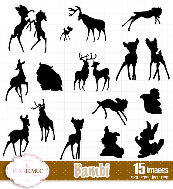 Bambi svg #15, Download drawings