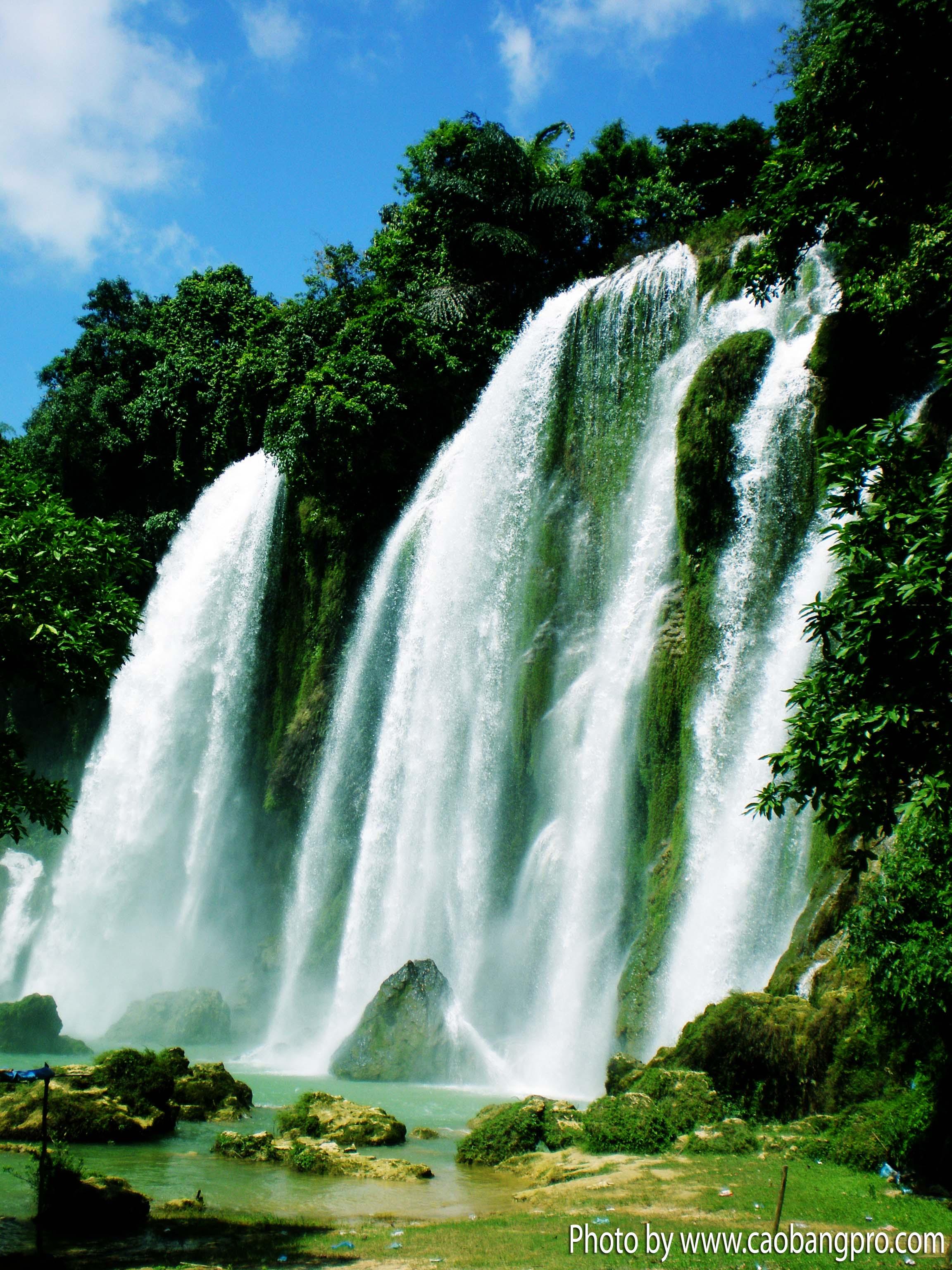 Ban Gioc#U2013Detian Falls svg #6, Download drawings