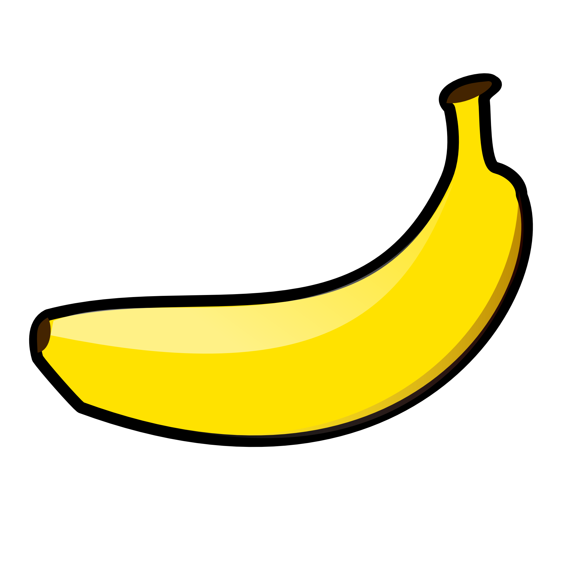 Banana clipart #2, Download drawings