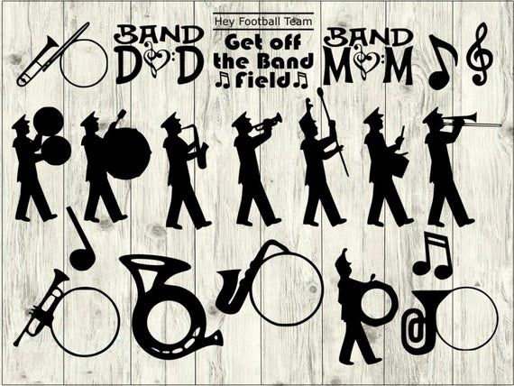 band svg #593, Download drawings