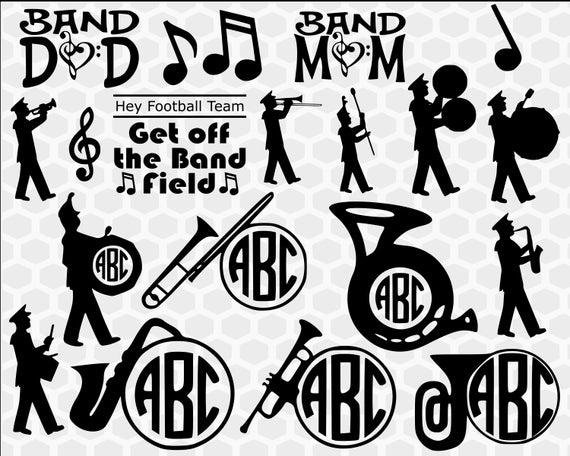 band svg #591, Download drawings