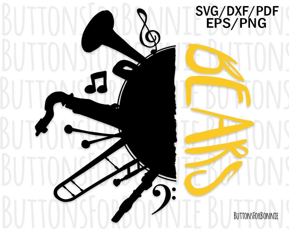 band svg #592, Download drawings