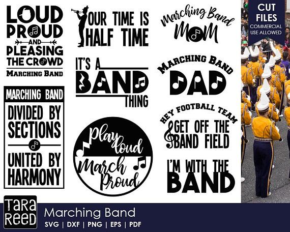 band svg #596, Download drawings