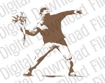 Banksy svg #10, Download drawings