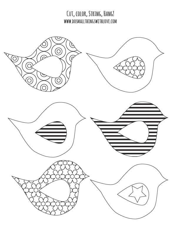 Banner coloring #4, Download drawings