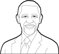 Barack Obama clipart #19, Download drawings