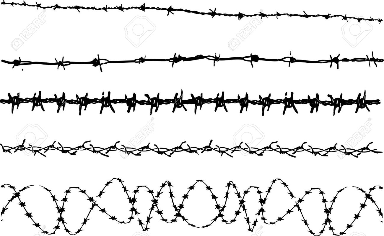 Barbed Wire clipart #6, Download drawings