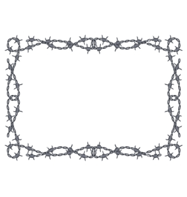 Barbed Wire clipart #2, Download drawings