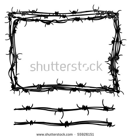 Barbed Wire svg #11, Download drawings