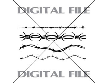Barbed Wire svg #5, Download drawings