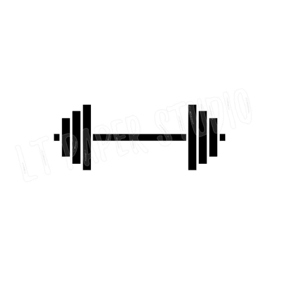 barbell svg #785, Download drawings