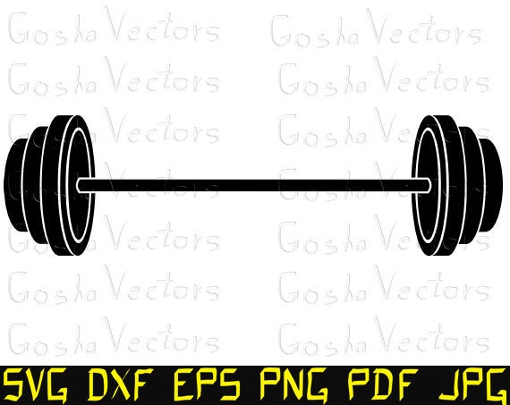 barbell svg #788, Download drawings