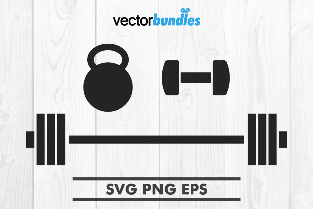 barbell svg #769, Download drawings