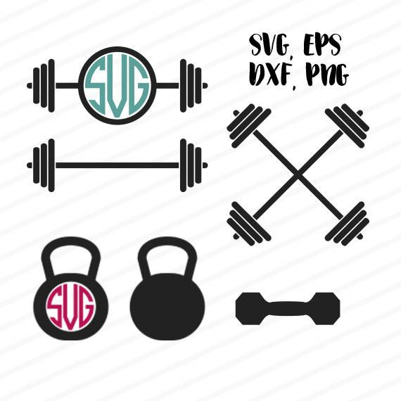 barbell svg #783, Download drawings